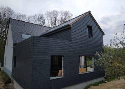 Extension ossature bois – Langrolay-sur-Rance (22)