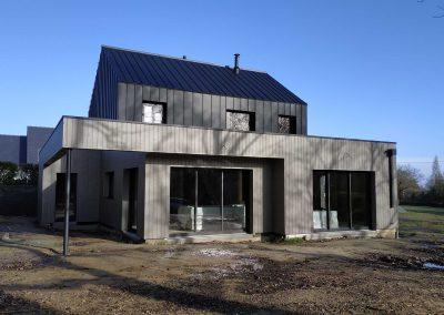 Maison ossature bois – Léhon (22)