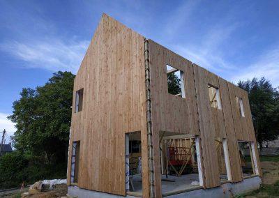 Maison ossature bois – Saint-Hélen (22)